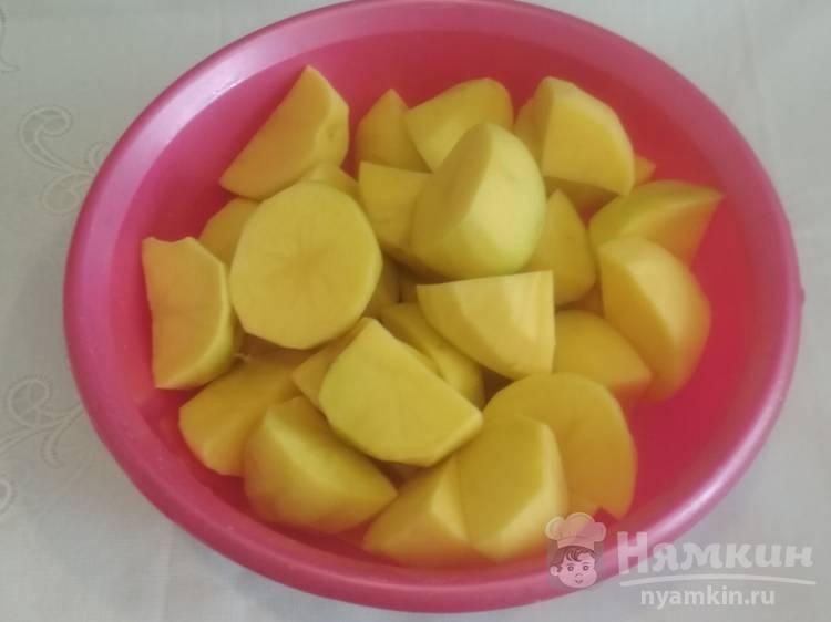 Картофельное пюре с молоком и маслом - фото шаг 1