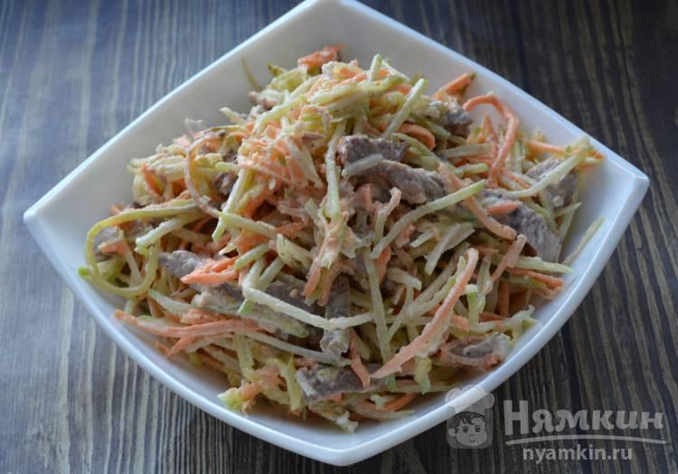 Салат с говядиной и редькой - фото шаг 4