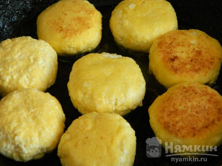 Сырники без муки и сахара - фото шаг 3