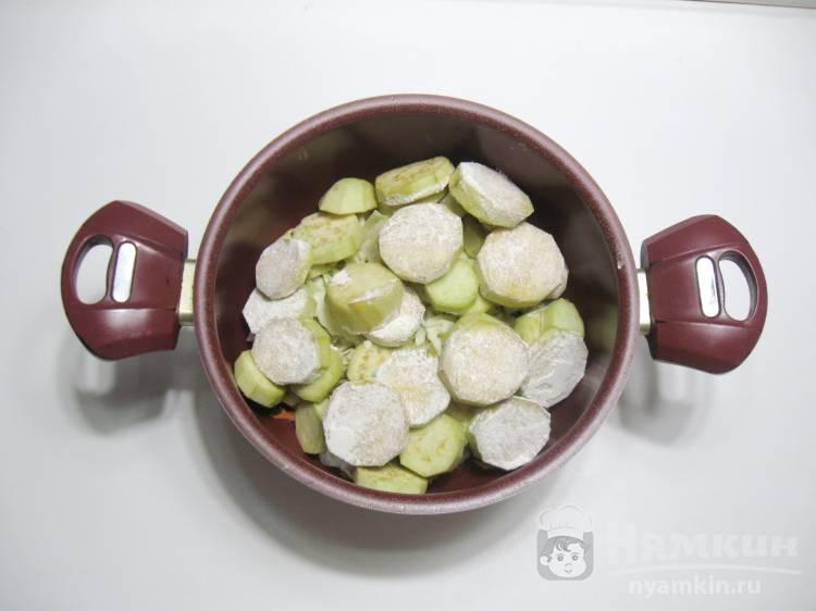 Овощное рагу с баклажанами и капустой - фото шаг 3