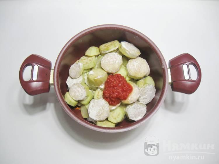 Овощное рагу с баклажанами и капустой - фото шаг 4