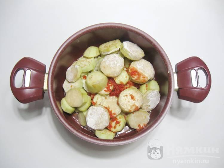Овощное рагу с баклажанами и капустой - фото шаг 5