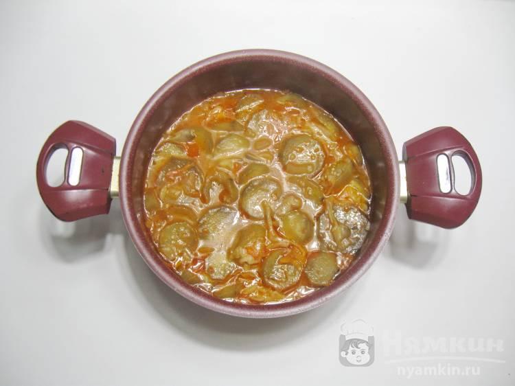 Овощное рагу с баклажанами и капустой - фото шаг 6