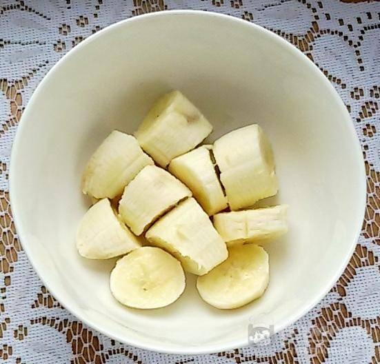Десерт-мороженное из яблока и банана - фото шаг 1