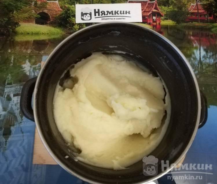 Картофельное пюре с молоком без масла - фото шаг 5